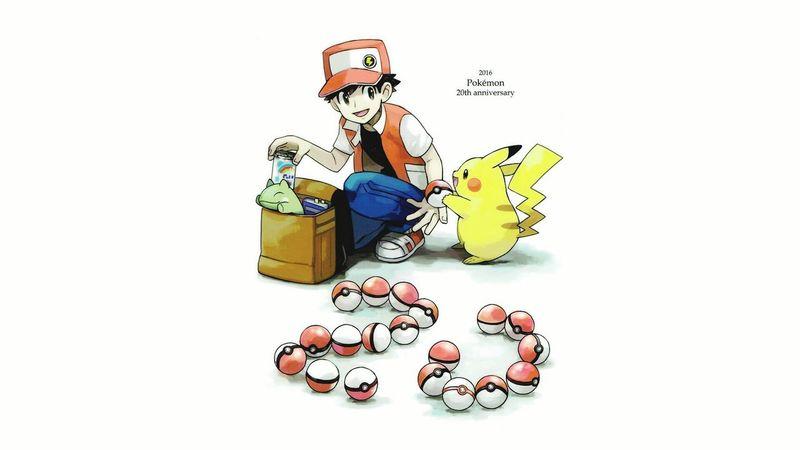 Draw Dessin HD Pokémon Pikachu Anniversary