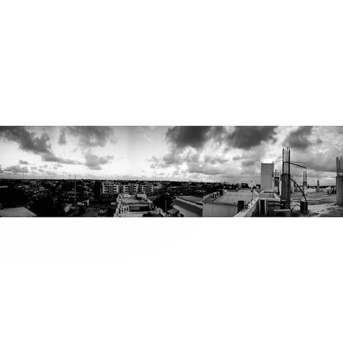 My first ever panoramic Pano Streetphoto Hospital Santodomingrd