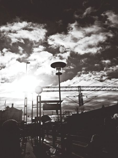MaxArt Skyporn Train Station Clouds