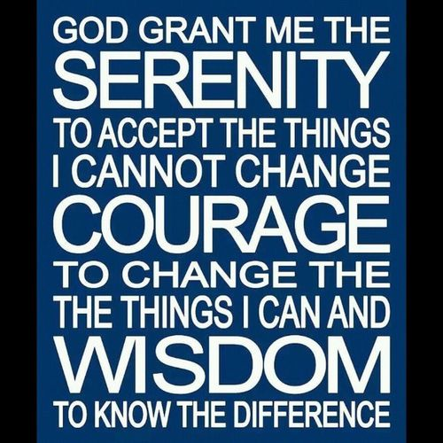 Serenity. Courage. Wisdom Serenityprayer Alcoholicsanonymous Aa Na recovering