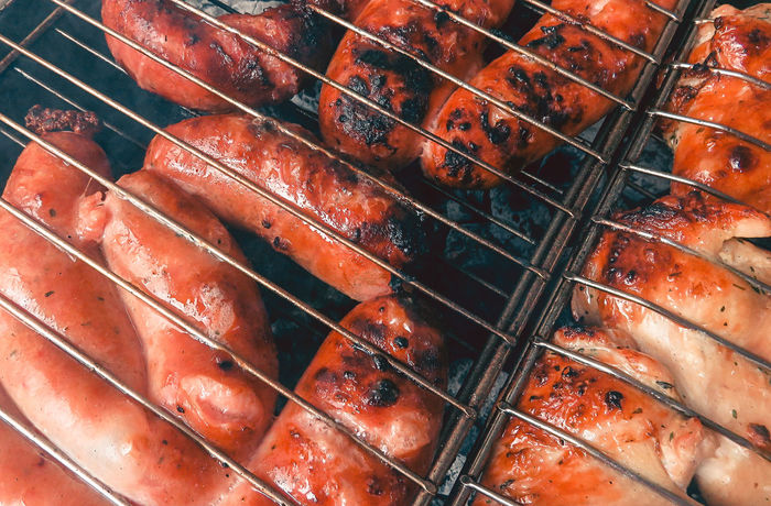 Barbecue day! Barbecue Close-up Day Food Food And Drink Freshness Grilled Indoors  Meat No People Sausage