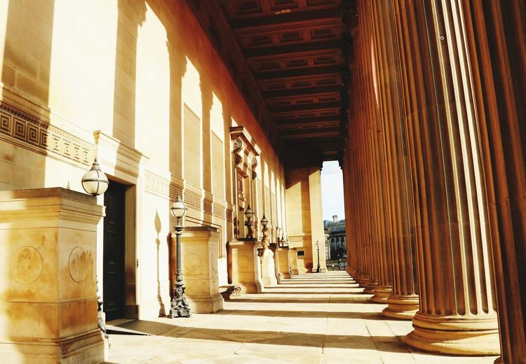 Shadow Architecture Built Structure Architectural Column Building Direction The Way Forward Arcade Sunlight Corridor Building Exterior Day No People The Past Arch History In A Row Diminishing Perspective