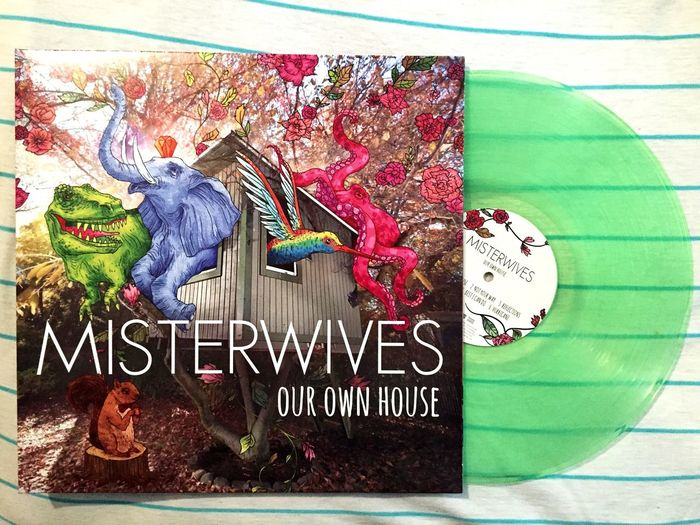 Mandy Lee ~ aka ~ girl I would totally go gay for. Misterwives Our Own House Mandy Lee Music Vinyl Colored Vinyl Transparent Records