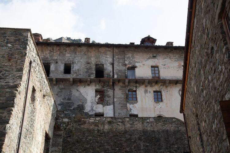 Old building against sky