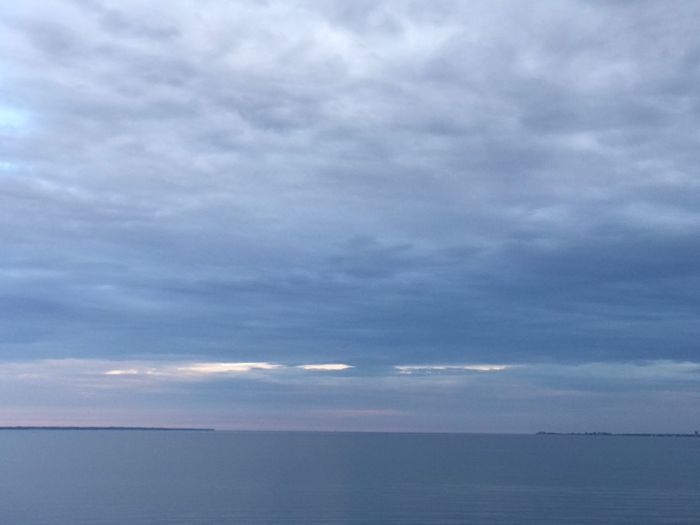 Sea Sky Cloud - Sky Horizon Over Water Beauty In Nature Scenics Tranquil Scene Water Tranquility Nature Idyllic No People Day Outdoors