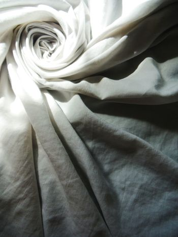 Linen rose Fabric Art Linen Texture Linen Folds Linens Fabric Detail Fabric Fabric Texture Fabric Design Abstract Art Bed Sheet Bedsheet Shadowplay Lightplay Shadows & Lights Shadow And Light Light And Shadow Light And Shadows Abstract Light And Dark Darkness And Light Natural Light Spiral Spiral Design Spiral Pattern