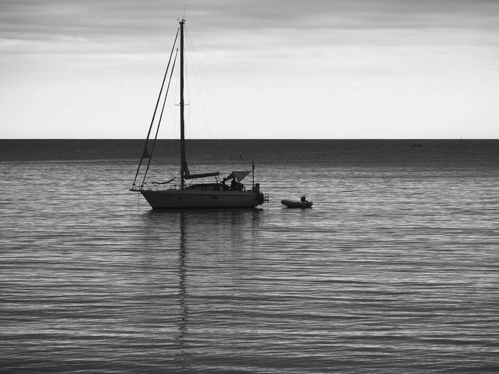 My Best Photo Springtime Decadence Water Sea Nautical Vessel Transportation Waterfront Sky Mode Of Transportation Beauty In Nature Scenics - Nature Nature Sailboat Tranquility Rippled Horizon Over Water Tranquil Scene Horizon Day Mast Pole No People