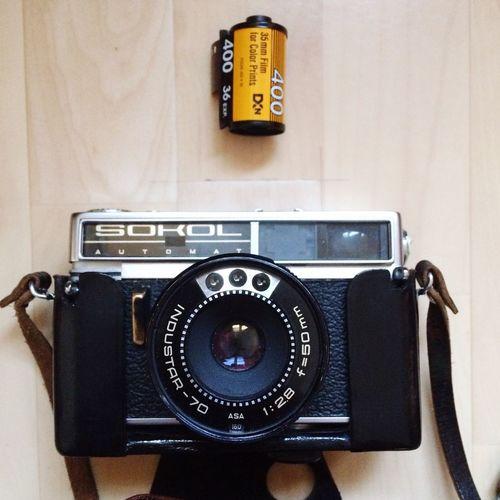 My Sokol sees redscale actually. Believe In Film Ishootfilm Sokolautomat Kodak Film Kodakfilm Redscale Filmphotography Analog Analogue Photography Camera - Photographic Equipment