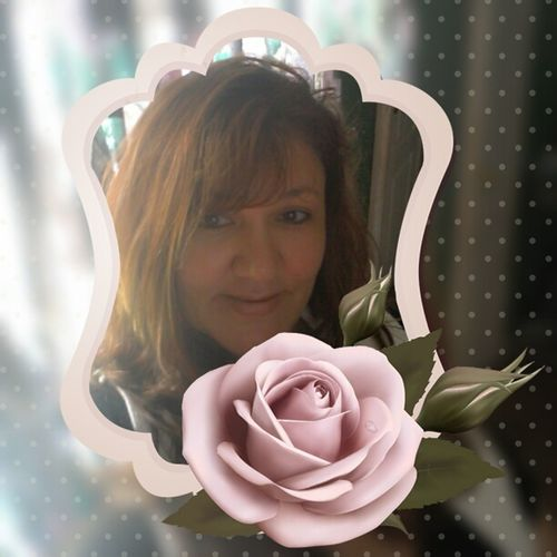 Picture Frame Made By Me Having Fun With Apps Its Me Pink Rose