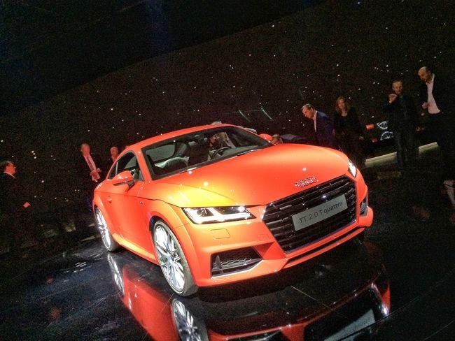 Introducing the new Audi TT in Frankfurt on 14 October 2014 Audi Car EyeEm Best Shots Design