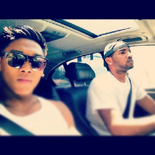 Me and the bro @ericjohnnn ridin around town in the 745I... Beamergang Bmw745I ForeignWhips Youngrichandflashy