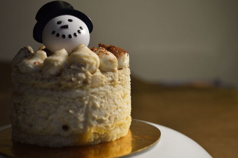 Brown Cake Cakes Close-up Cocoa Coffee Delicious Dessert Desserts Food Food And Drink Holidays Indulgence Preparation  Props Ready-to-eat Selective Focus Smile Snowman Sugar Sweet Sweet Food Table Tiramisu Xmas