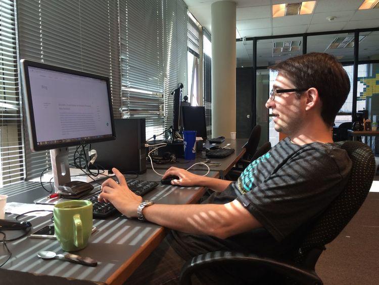 photo by @adrian_zarza (Instagram) #Computer #Dev #Developer # #ComputerWork # #Programmer #Work #Pc #Programming #Focus #DailyWork Original Nofilter