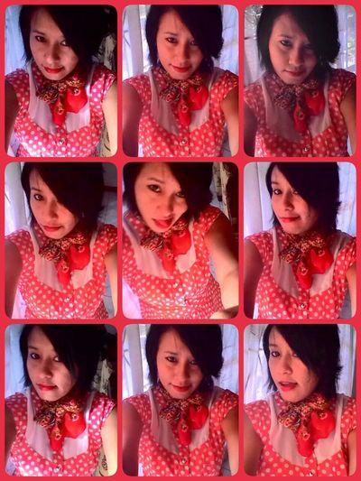 Happy Sundayy !♥ Redlips💋 Popular Photos Nice Hair Style Happygirl Lookin Cute Its Me