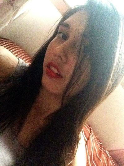 👸 First Eyeem Photo Red Lips ❤ Matte Lipstick Red
