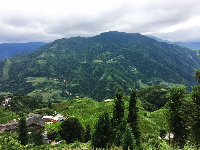 Mountain Landscape Mountain Range Nature Green Color Outdoors