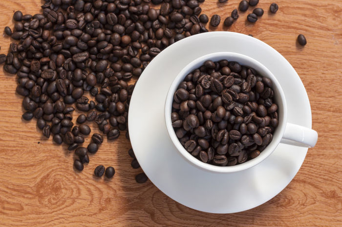 Black Peppercorn Brown Close-up Coffee Bean Coffee Crop Directly Above Food Food And Drink Freshness High Angle View Indoors  No People Seed Table