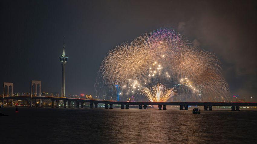 好心情(1) EyeEm Selects Night Illuminated Architecture Firework Built Structure Arts Culture And Entertainment