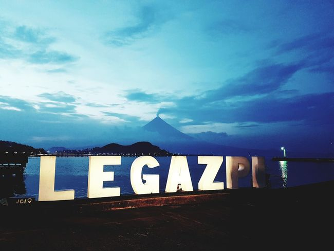 -Legazpi Boulevard with a sight of Mount Mayon- No People Outdoors Sky Night Mountain Nature Mayon Volcano Philippines Mayon Volcano Daraga, Albay Philippines Mayon Volcano Volcano Boulevard Nightlights Justphotography Eyeemphotography Eyeem Philippines TravelPhilippines Silhoutte Photography Travel Destinations Travelph