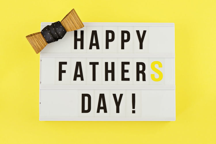 I love papa text on white lightbox with wooden heart on yellow background. Greeting card concept to celebrate Father's day Day Fathers Father Gift Happy Dad Background Love Card Greeting Holiday Celebration Concept Decoration Text Family Present Best  Man Event Daddy Box Papá Message Object Creative Composition Party Yellow Board Mood Lightbox Above Red Celebrate Fatherhood  Flat Lay Lifestyle Male Masculine Overhead Parent Congratulation Tie Bow Motivation Note Still Life Yellow Background Studio Shot No People