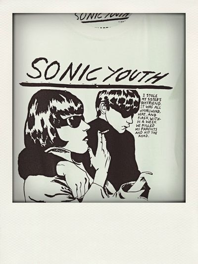 Pull & Bear T-shirt Sonic Youth Classy Look  loving my new shirt <3