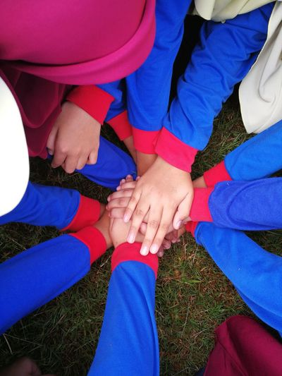 Human Hand Togetherness Friendship Men Unity Women Teamwork Bonding Happiness Love Human Leg Couple Personal Perspective Feet Low Section