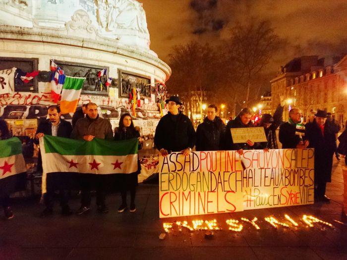 Free Syria Republic Paris France