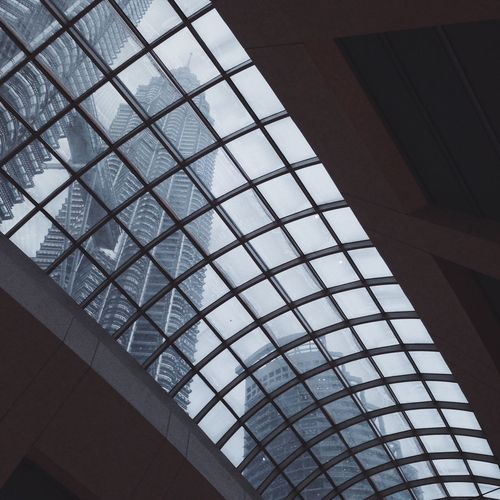 Cityscapes taken from within at Suria KLCC
