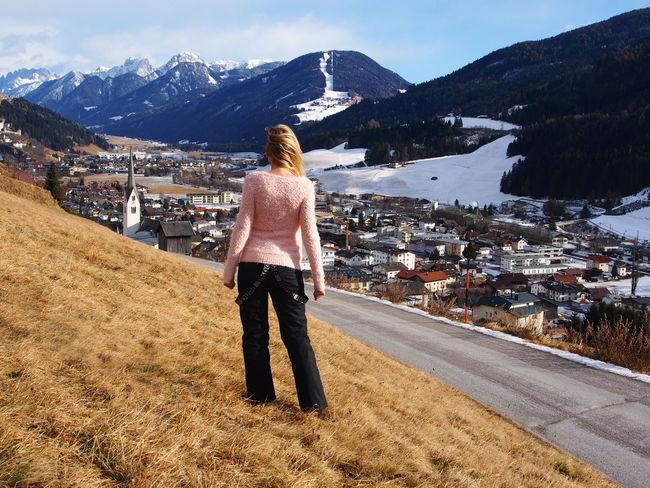 Alone AloneGirl Austria Blondgirl Country Life Courage Dolomites Dolomiti Faraway Girlalone Girlintheworld Girlonthetrip Liferoad Mountains OverTheHill Overthehillsandfaraway Takemeaway Theworld Thinking About Life Town Trip Österreich