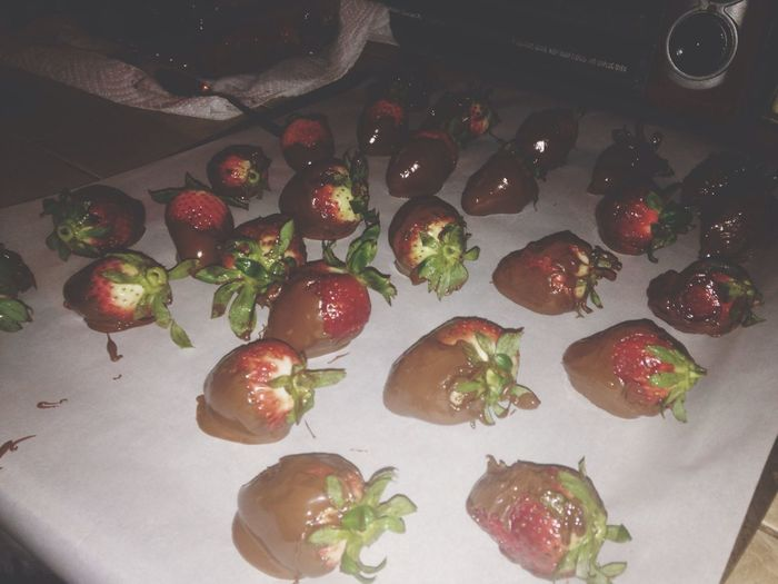 Chocolate strawberries ❤️
