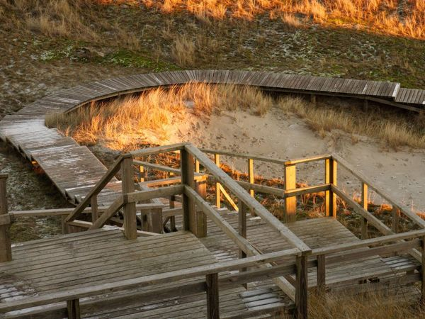 Broadway of Amrum Wood - Material Built Structure No People Water Outdoors Day
