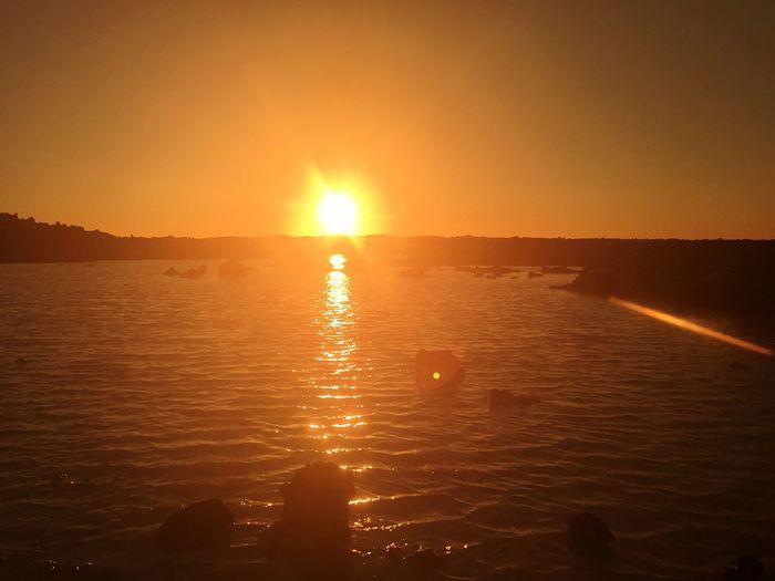 Blue lagoon midnight sun Rejkevik Midnightsun Sunset Geothermal Spa Iceland Water Sillouette First Eyeem Photo Waterscape