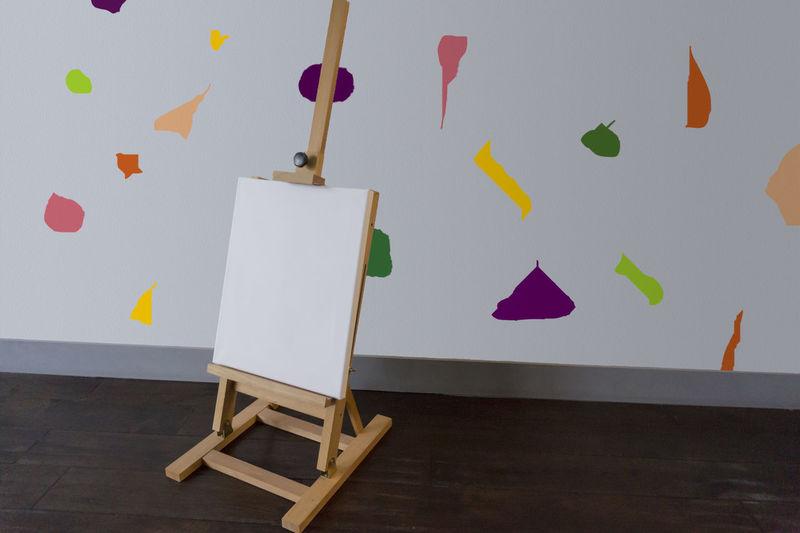 Umbrellas on paper