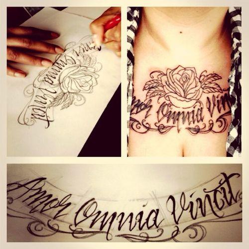 i love my tats Tattoo
