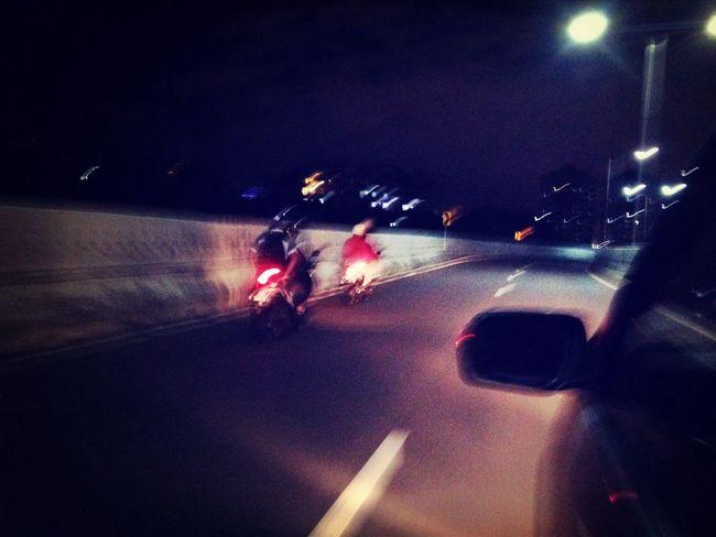 Motor Masuk Jalan Layang
