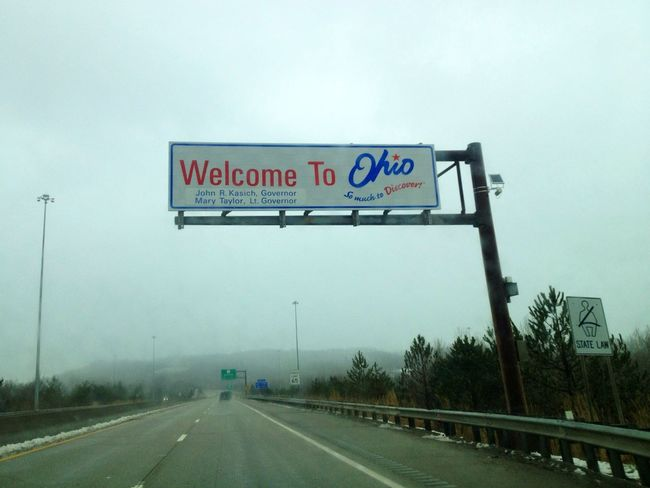 Home Sweet Home Ohio Home State