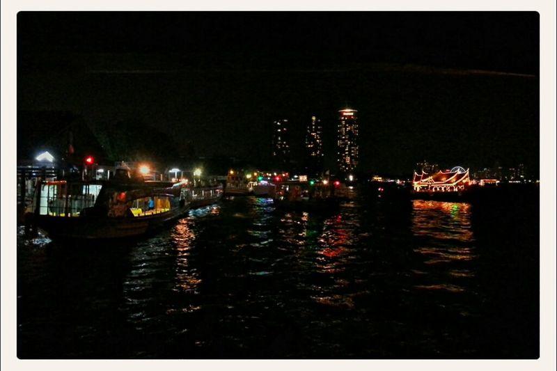 Eye4photography  Night Lights; By Chao Phaya River, BKK, THA Nightcall EyeEm Best Shots