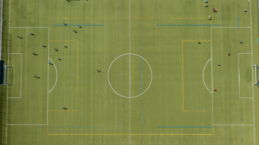 Absence Backgrounds Competition Court Education Empty Full Frame Geometric Shape Grass Green Color Indoors  No People Pattern Playing Playing Field Soccer Soccer Field Soccer Team  Sport Team Sport