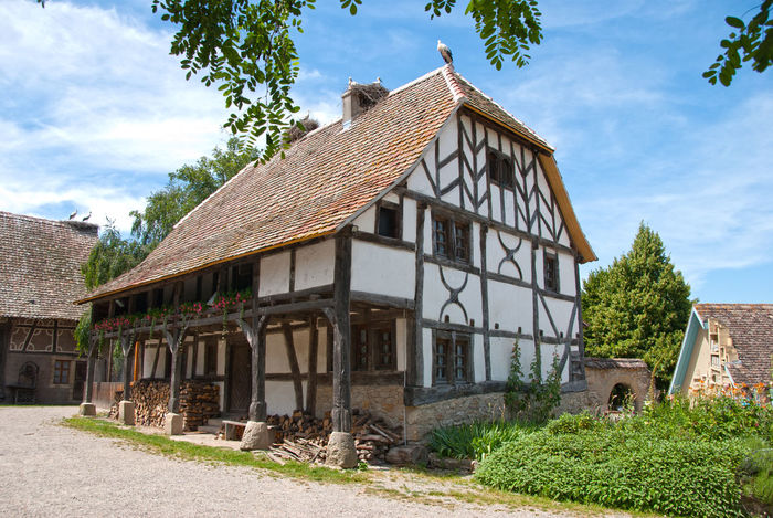 Haus im L'Ecomusee Ungersheim Architecture Built Structure Outdoors France Alsace History Travel Destinations Check This Out Old House