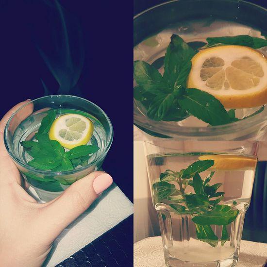 Food And Drink Tea - Hot Drink Freshness Mint Tea Lemontea
