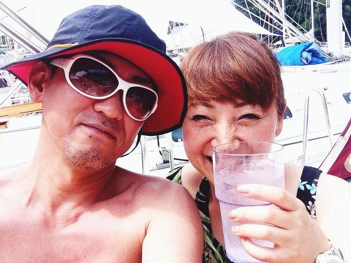 今年初ヨット^_−☆ Enjoying The Sun Sunshine Sea Relaxing