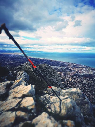 Mountain Climbing A Mountain Montgo  SPAIN Travel Sea Horizon Over Water No People Sky Water Nature Outdoors