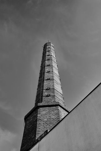 Low angle view of tower