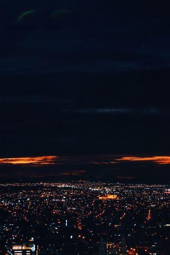 Amazing view Night Atardecer Cities At Night