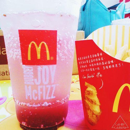 McDonald's Berry Ice Drink
