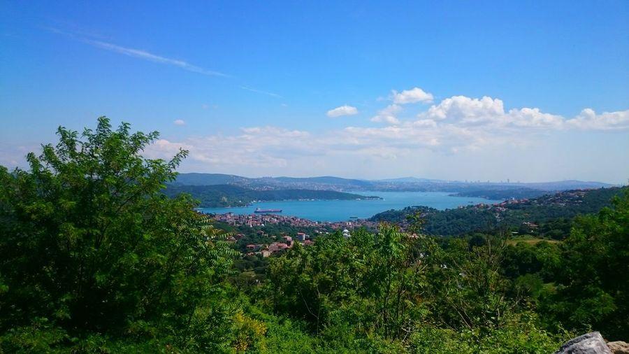 Türkiye Istanbul City Sarıyer Sony Xperiaz2 Fotography Muhteşem Manzara