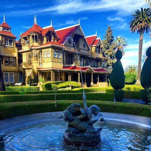 Winchestermysteryhouse Sanjosé California Roadtrip Architecture Weird Haunted 2016