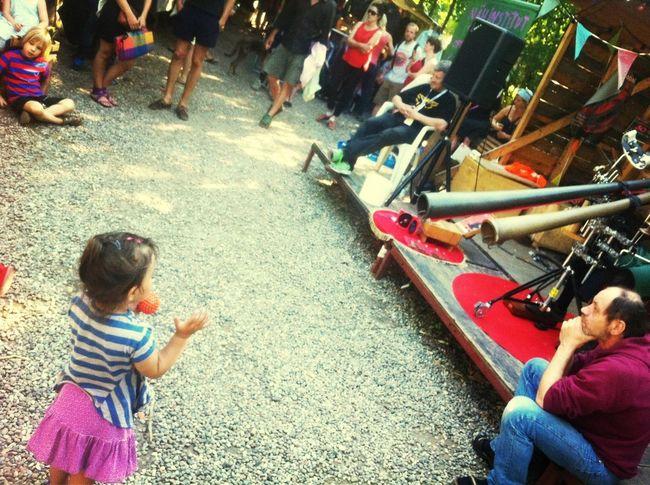 Didgeridoo Dancing