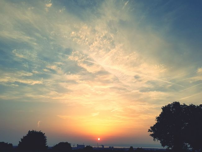 Sunset Sky No People Nature Outdoors Beauty In Nature Day Landscape