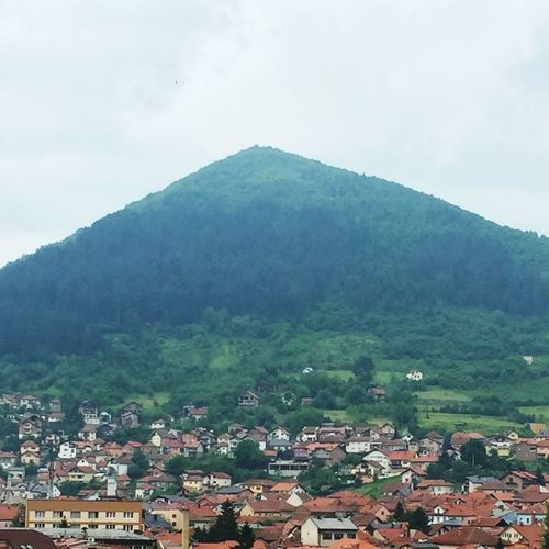 Pyramid Mountain Pyramid Visoko Pyramid Bosnia Pyramid Pyramid Of The Sun Visoko Pyramid's Triangle Top Up The Hill Mountain Side Side View